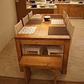 柚木色餐桌02