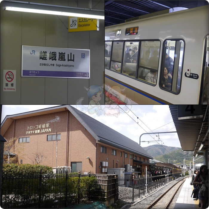 JR 嵯峨嵐山駅
