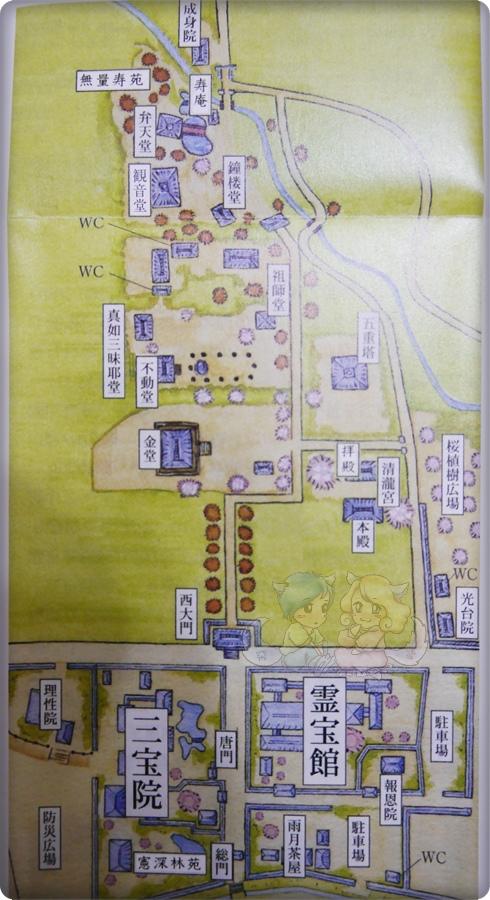 醍醐寺.地圖
