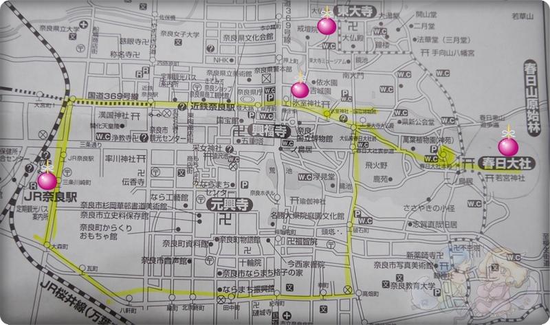 奈良.地圖
