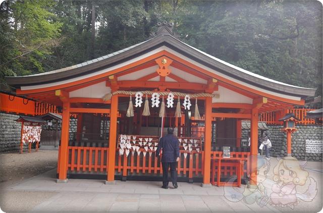 伏見稻荷神社.奥社奉拝所