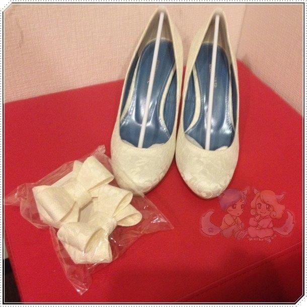 <收到婚鞋>
