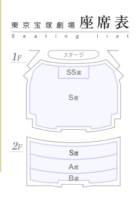 東宝座位表