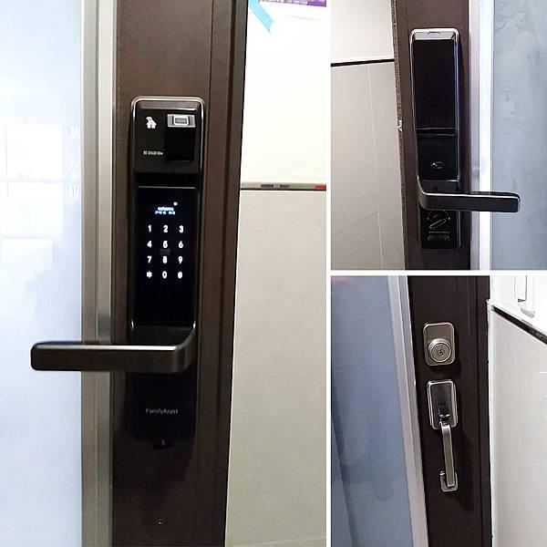 台灣電子鎖安裝 電子鎖PTT評價 智慧管家電子鎖
