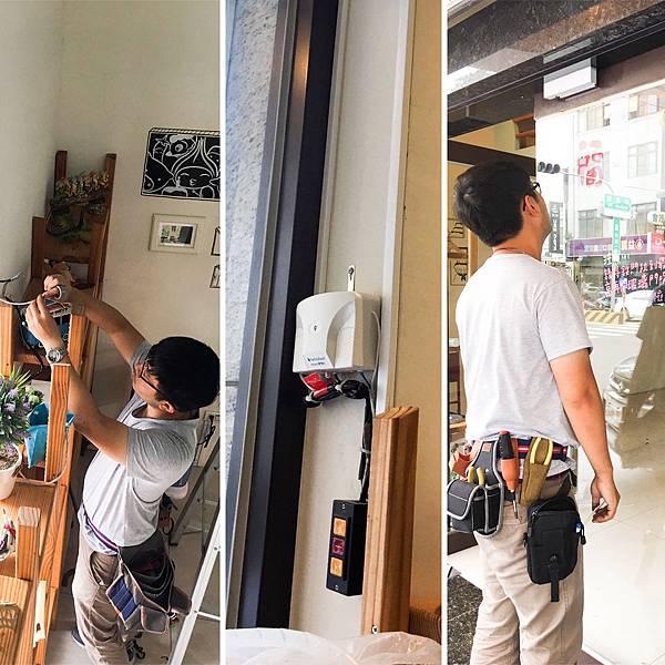 台灣製造安全捲門控制器 遙控器 發射器 捲門衛士