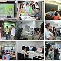 2好色計課程花絮左上至右下依序為設計達人分享、參訪藍本設計公司、參訪印刷廠、電腦課程.jpg