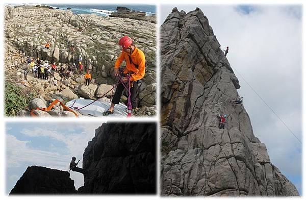 北區攀岩第二天龍洞岩場