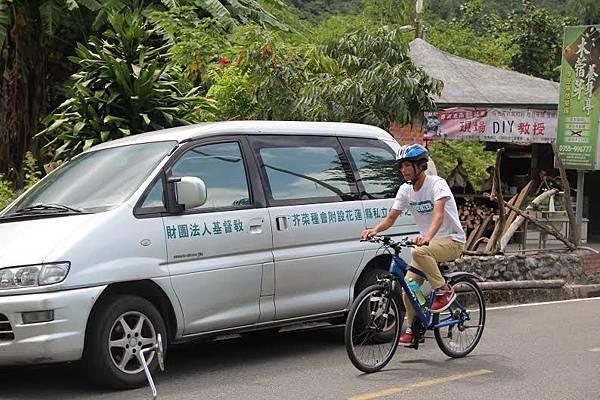 每週六的單車活動培養學員的耐力