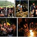 阿VA大哥帶領我們部落巡禮、手作燭台、利用竹子生火,處處都是原住民的智慧