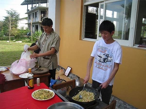 學員展現廚藝