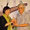 文化部長龍應台親頒「終身成就獎」給曹俊彥~中國漫畫家協會網頁