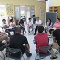 課程尾聲,青少年分享自己的故事.JPG