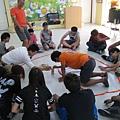 淯庭課程中與同學互動