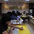 經由講師引導後,學員們自行挑選感興趣的職業達人.JPG
