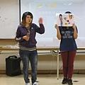 楓葉在課程中分享自己喜歡做小點心、運動.JPG