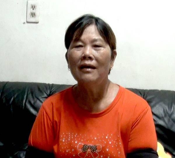阿固的阿嬤很感謝就輔員的愛心與耐心,幫助阿固改變生活的態度