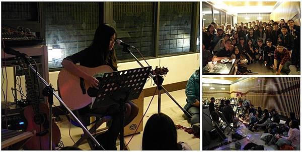 小婷的個人演唱會最終在大家的支持下成功演出