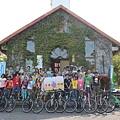 二手單車經修復後捐贈給20位小朋友