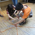 07芝麻於課堂中學習團隊合作