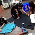 (圖三)社會回饋,帶孩童一起製作束口背包!