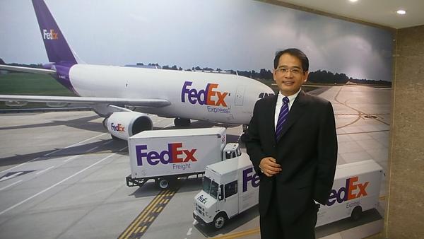 聯邦快遞總經理朱興榮3.JPG
