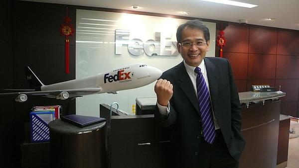 聯邦快遞總經理朱興榮2.JPG