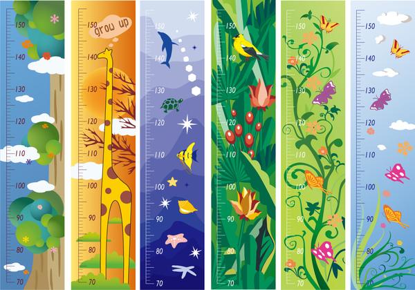 創意壁貼系列∼身高尺貼紙