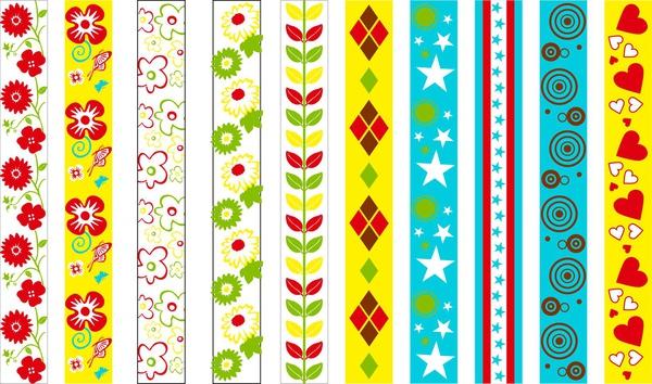 飛盟隨性創作的普普風緞帶圖樣2