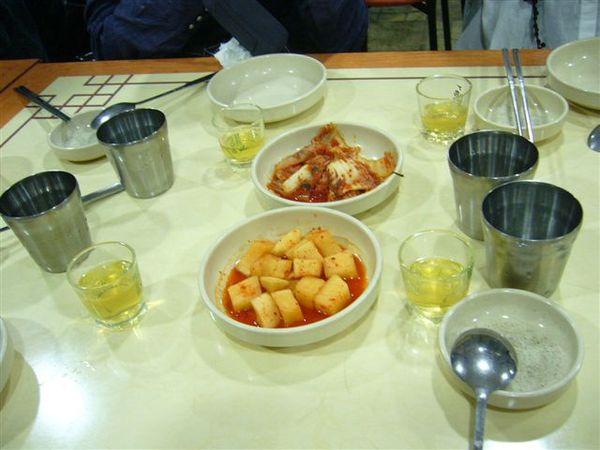 第一天晚餐-人蔘雞酒風味套餐