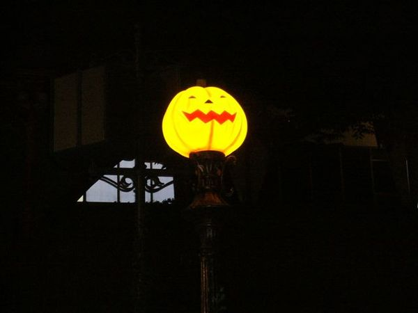 愛寶樂園裡的南瓜燈