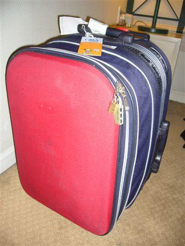 我的爆炸行李箱