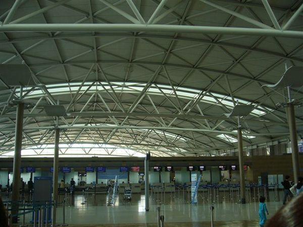 第四天韓國仁川機場一角