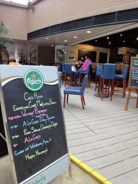 柏麗灣旁的餐廳