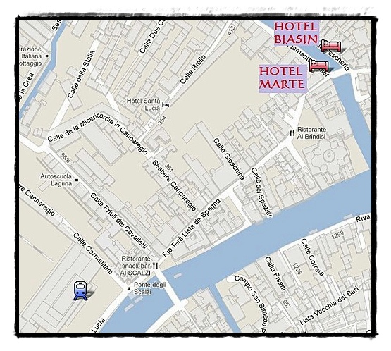 威尼斯住宿 Hotel Marte & Biasin.jpg