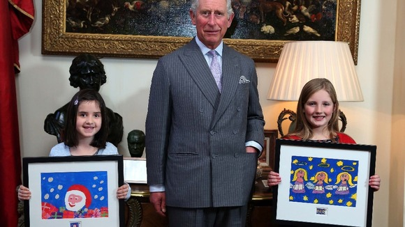 molly robson christmas stamp royal mail