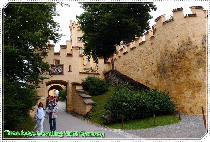 Schloss Hohenschwangau, Neuschwanstein 天鵝堡 63