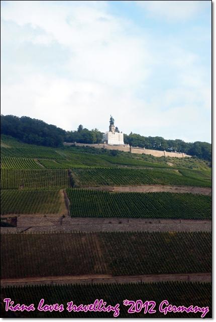 Rhein萊茵河 - Niederwald Monument 尼達瓦德紀念碑