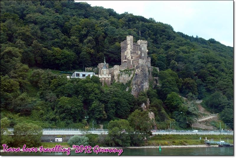 Rhein萊茵河 - Burg Rheinstein 萊茵斯坦堡 萊茵石城堡