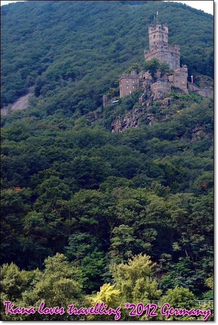 Rhein萊茵河 - Burg Sooneck素角城堡 桑內克城堡 松埃克城堡