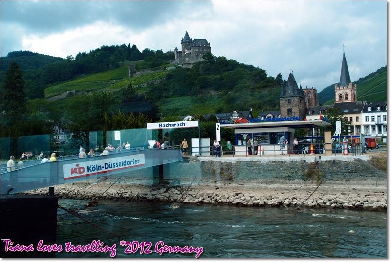 Rhein萊茵河 - Bachrach巴拉哈 Burg Stahleck史塔雷克城堡