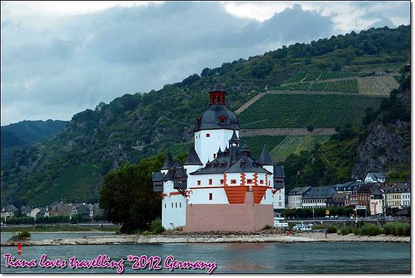 Rhein萊茵河 - Pfalzgrafenstein Burg 普法爾茲伯爵石城堡「石船」