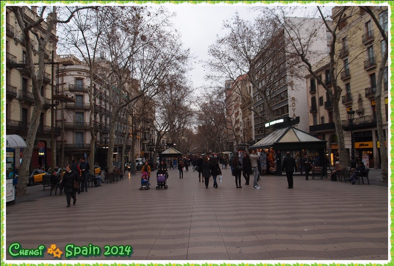 冬遊西班牙 ※ Las Ramblas蘭布拉大道001.JPG