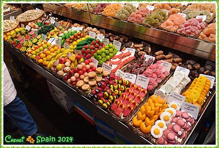 冬遊西班牙 ※ Mercat Sant Josep 聖荷西市場002.JPG