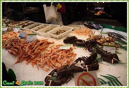 冬遊西班牙 ※ Mercat Sant Josep 聖荷西市場005.JPG