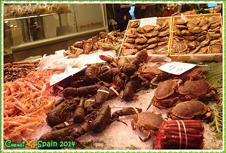 冬遊西班牙 ※ Mercat Sant Josep 聖荷西市場007.JPG