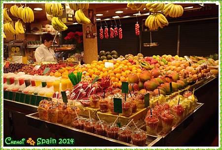 冬遊西班牙 ※ Mercat Sant Josep 聖荷西市場011.JPG