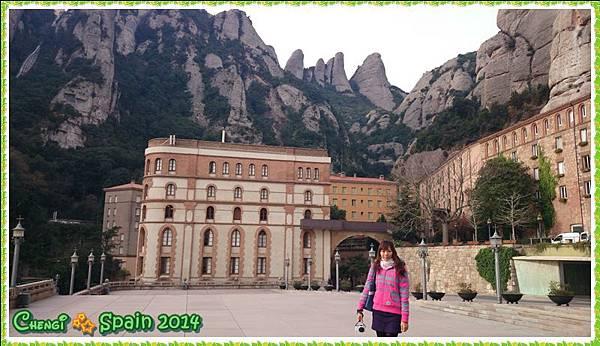 冬遊西班牙 ※ Montserrat 蒙塞拉特 聖山015.JPG