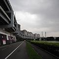 永福橋自行車道起點