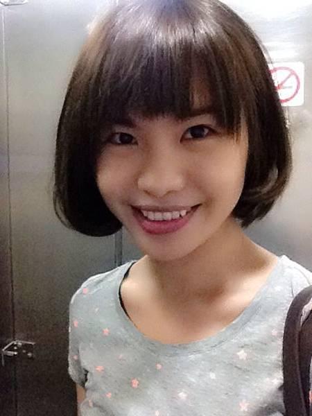 蓬蓬短髮_fanhsuan