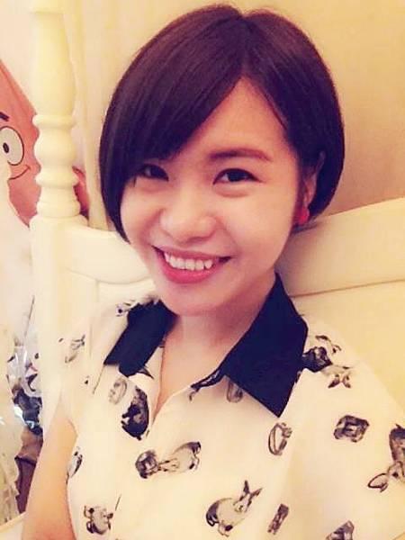 令人大抖的超短髮_fanhsuan